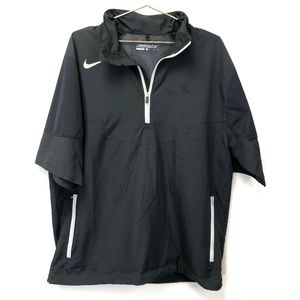 NIKE Golf Black Short Sleeve Jacket